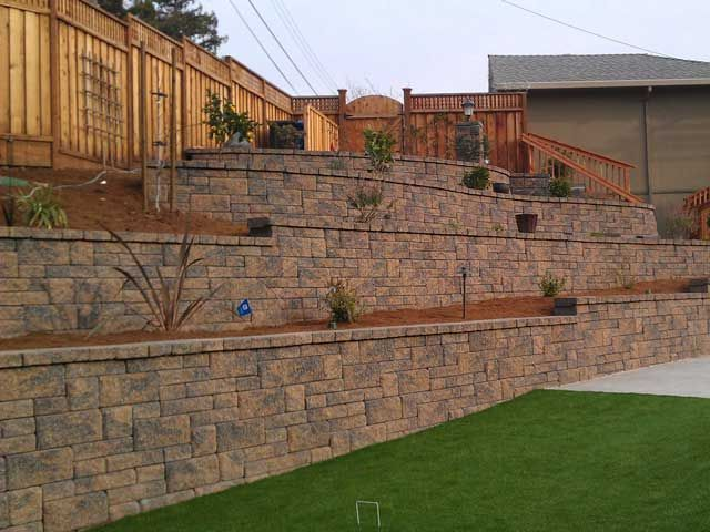 Low Retaining Wall Ideas