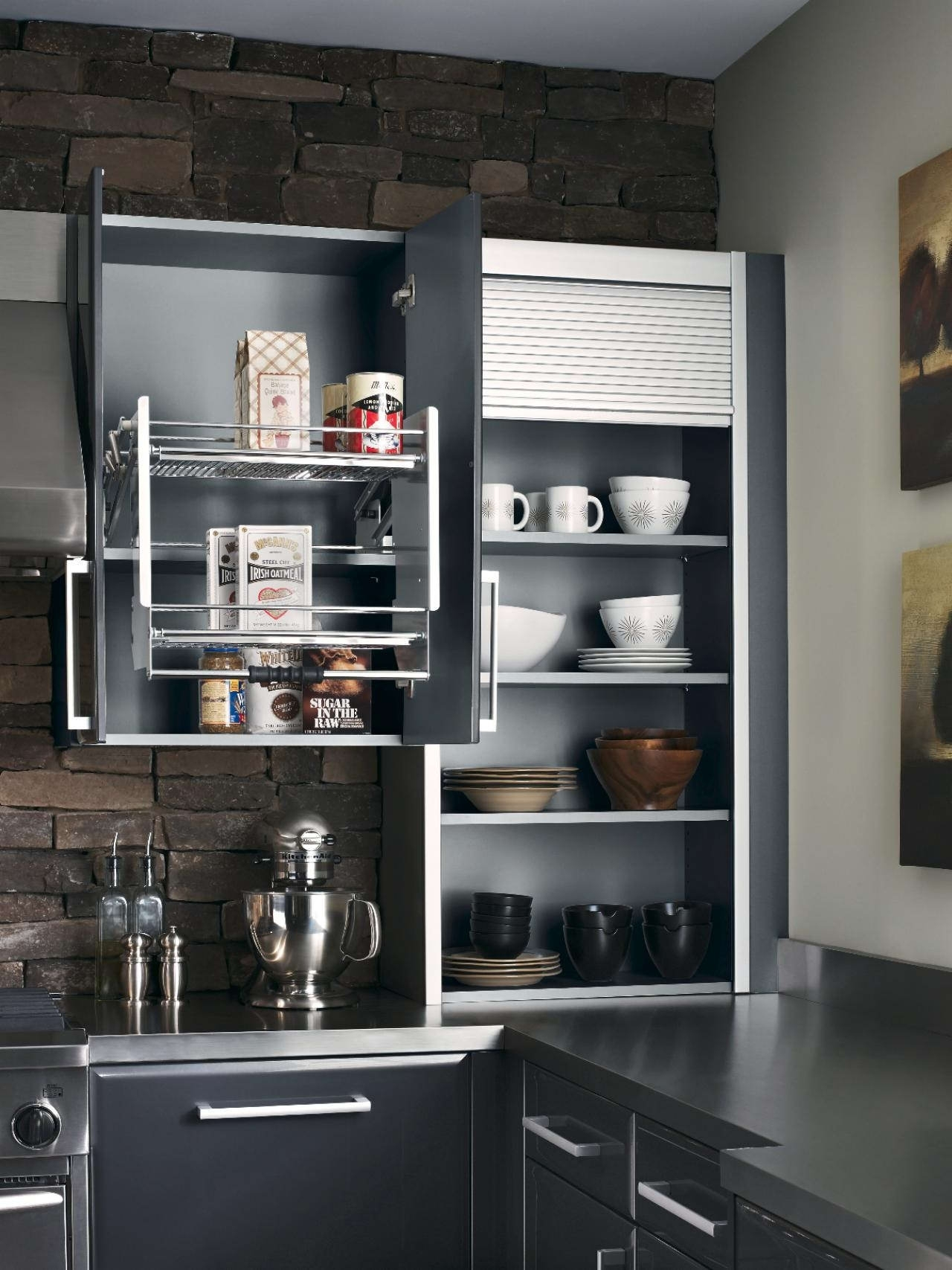 decorations modern kitchen pantry decor neat with modern